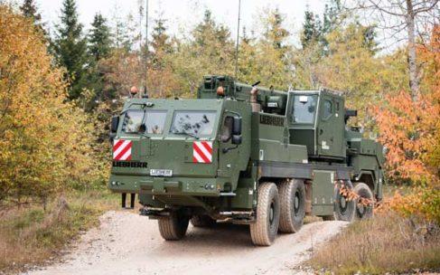 Liebherr suministrará de grúas móviles y salvamento a las Fuerzas Armadas de Alemania