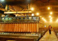 Se incrementa producción minera de zinc, cobre y hierro.
