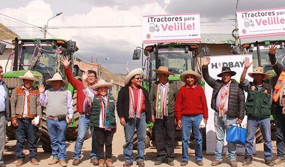 Hudbay Perú impulsa productividad agrícola
