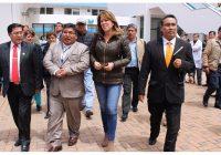 Ministra Cayetana Aljovín se reunió en La Oroya con trabajadores de Doe Run