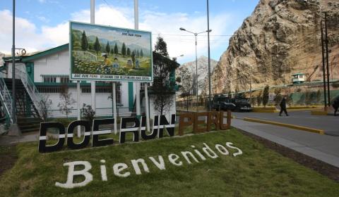 Doe Run Perú presentará plan de reinicio para complejo La Oroya