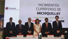 Southern Perú desarrollará Michiquillay