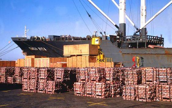 Exportación minera creció 24%