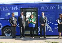 Primer bus eléctrico de transporte público