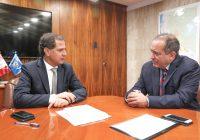 Ministros de Energía y Producción se reunieron para abordar temas de lotes petroleros