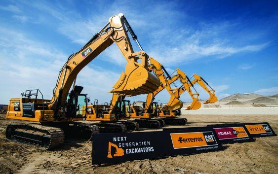 Nueva generación de excavadoras de CAT, la serie Next Gen, llegó al Perú