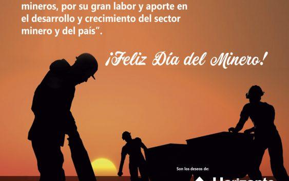¡Feliz día del Minero!