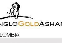 AngloGold Ashanti detiene estudio de suelos en Colombia