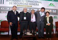XXIII Seminario Internacional de Seguridad Minera reúne a expertos
