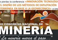 XII Conamin presentará trabajos de investigación, innovación y tecnología minera
