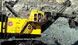 OEFA ordena a Shougang paralizar transporte y almacenamiento de minerales