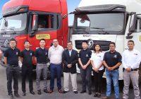 Cresko entrega flota de tractocamiones Shacman a Transpacific Business