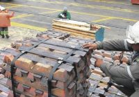 SNMPE: Exportaciones de cobre registraron caída de 12% entre enero y mayo 2019
