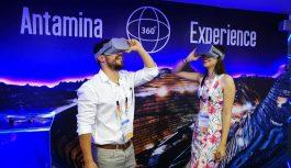 Antamina muestra su proceso productivo y social en video de 360 grados en Perumin