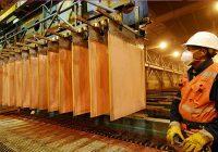 SNMPE: exportaciones de cobre Caen 12.1% entre enero a julio 2019