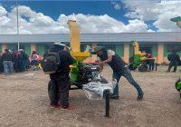 Antapaccay entregó maquinaria agrícola a comunidad de Alto Huarca