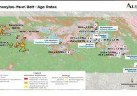Auryn confirma la edad de mineralización de la zona de Sombrero y respalda el potencial de depósitos de clase mundial.