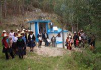 Yanacocha mejora sistema de agua potable en Rosapampa