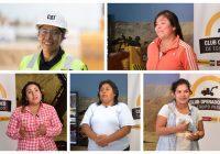 Cinco historias de mujeres a toda máquina del Club de Operadores de Equipo Pesado