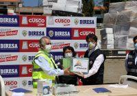 Antapaccay entregó implementos biomédicos y equipos hospitalarios a la DIRESA Cusco