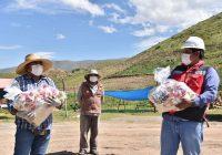Anglo American continúa apoyando con víveres a sectores vulnerables de Moquegua