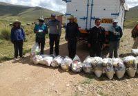 Minera Antapaccay apoya al 100% a las familias extrema pobreza de Espinar con 5750 paquetes de víveres e implementos de aseo