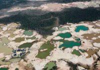 Destruyen maquinaria y equipos que eran utilizados para la minería ilegal