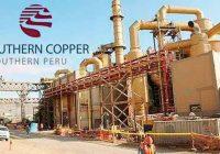 Southern Copper reparte dividendos en Perú por la mitad del último valor