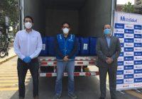 Quimtia dona 5 toneladas de Peróxido de Hidrógeno a EsSalud para combatir el Covid-19