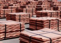 Cobre sube por reducción de inventarios y demanda de metales por parte de China