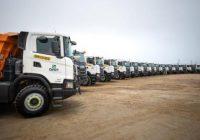 Scania entrega 77 camiones mineros