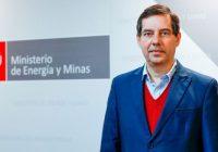 Jaime Gálvez Delgado nuevo ministro de Energía Minas