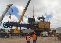 Ferreyros reconstruye tercera pala gigante Cat 7495