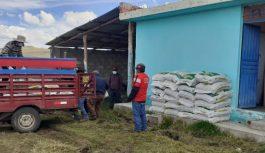 Antappacay: Convenio Marco entregó alimento balanceado a la comunidad de Huini Corccohuayco