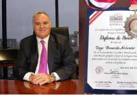 Diego Benavides: Congreso de la República le otorgó reconocimiento alPresidente de Minera IRL